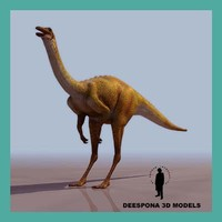 gallimimus dinosaur 3d model