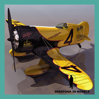 gee bee granville brothers 3d model