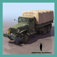 3d gmc cckw 353 military truck