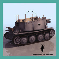 max sdkfz 138-1 grille gun
