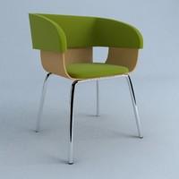 gemini chair 3ds