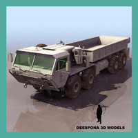 M977 HEMTT US Heavy Expanded Mobility Tactical Truck