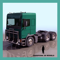 3d leyland european truck