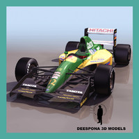 max european formula racing car