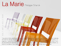 max transparent chair la marie