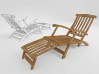 3dsmax chair long