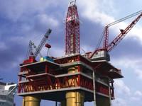 Oil Platform & Tanker