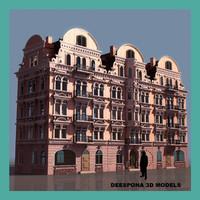european grand hotel palace 3d max