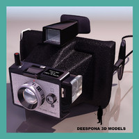 3d camera polaroid color pack