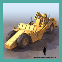 3ds max scraper road machine public