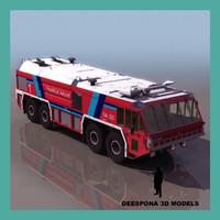3d simba firefighter truck