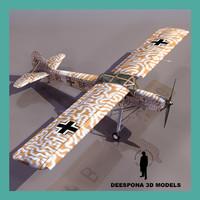 FIESELER FI 156C STORCH GERMAN PLANE WWII
