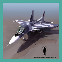 3d sukhoi su-34 russian fighter
