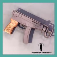 scorpio machine gun max