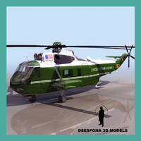 3d vh seaking presidential model