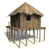 african building 3d max