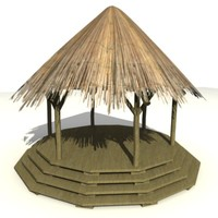 african building 3d model