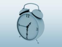 alarm 3d model