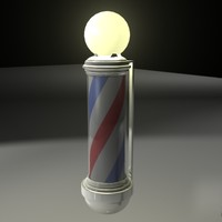 barbershop pole 3d lwo
