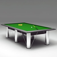 max modern billiards table