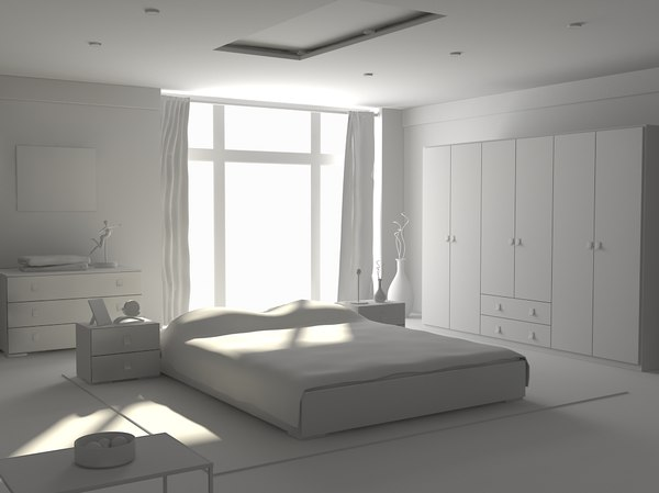 maya modern bedroom - chambre.zip... by solhi fady