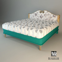 3d bed colombostyle model