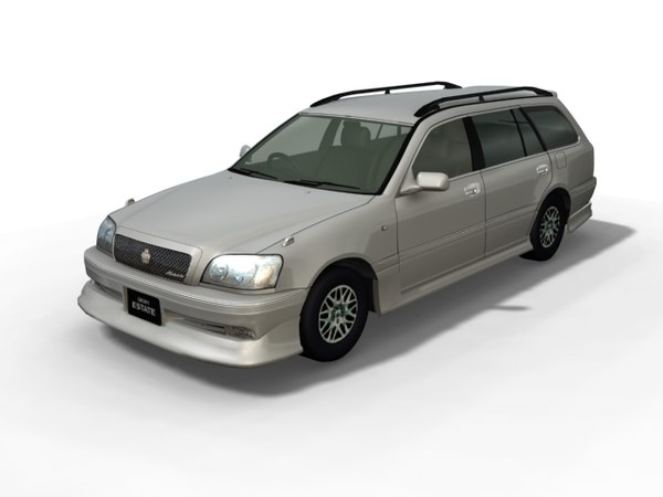 toyota estate 3d model - Crown Estate... by put3d