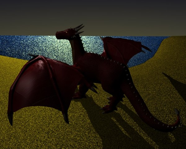 blender dragon ramal - Ramal.rar... by ajma