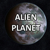 free earth planet worlds 3d model