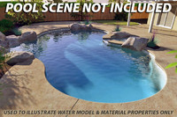 pools water swimming 3d model