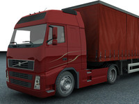 3ds max new truck trailer