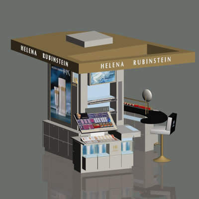 3d model of loreal hr stand - hr 11 stand... by BARAKA