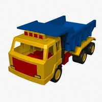 toy truck 3ds