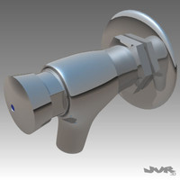 3d model tap closes faucets