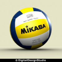3d model volleyball volley ball