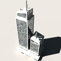 skyscraper building 3d model