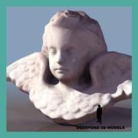 angel cupid statue sculpture max