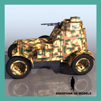 3d armored car spanish civil war