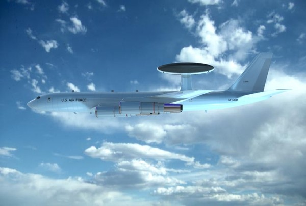 e3 awacs 3d model - E3 AWACS... by Infinite3dfx