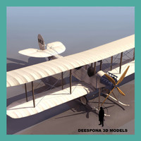 raf be2 recon british 3d model
