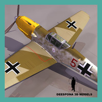 MESSERSCHMITT BF 109 E EMIL GERMAN FIGHTER WWII