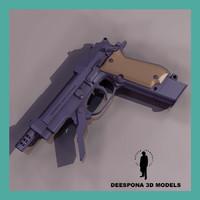 BERETTA 93R AUTOMATIC GUN
