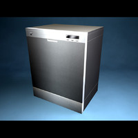 3d max dish washer dishwasher