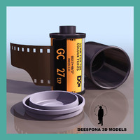 KODAK FILM 35mm REEL PACKAGE
