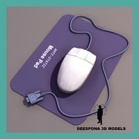 3d pc hi res mouse model