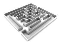 maze 3d c4d