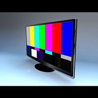 3d model plasma tv