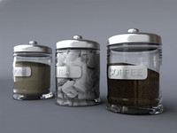 tea coffee sugar jars max