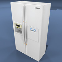 refrigerator freezer fridge 3d max