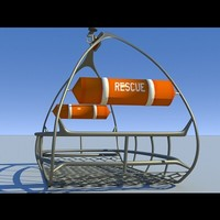 3d model rescue basket